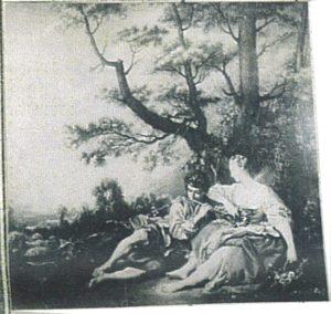 Title: Berger et Bergere (Shepherd Shepherdess) Artist: Boucher